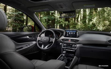 2019 Hyundai Santa Fe Interior by Hyundai Unveils Suv For Family Cing 2019 Santa Fe