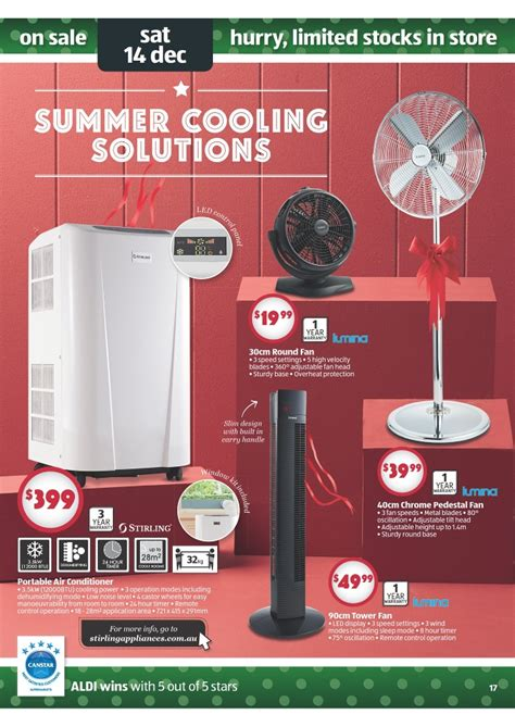 Aldi 2013 Christmas Gifts Catalogue Page 17 Portable Air Conditioner