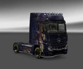Fh Purple volvo fh 2013 purple skin ets 2 mods