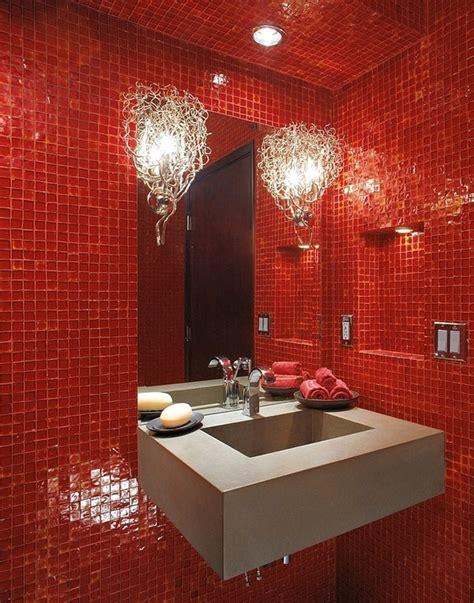 bagni di colore bagni di colore rosso sensazionali idee pratiche