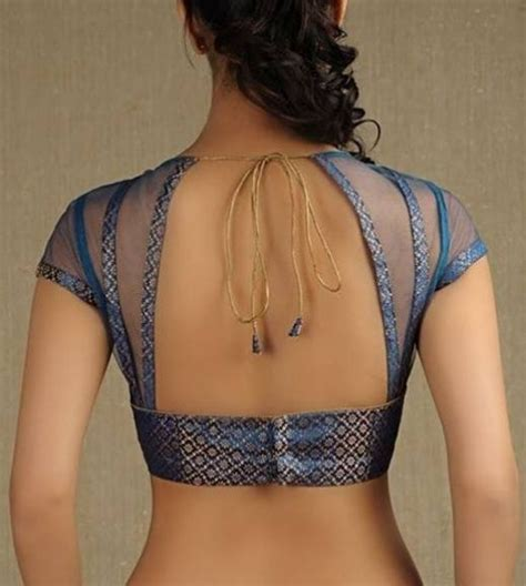 Blouse Lovy Blouse back neck blouse designs back neck blouse patterns