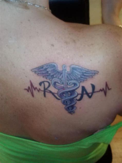 rn tattoos 252 best images about nurses with ink on
