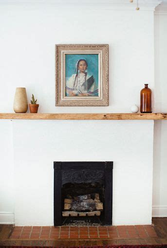 simple fireplace mantel best 10 simple fireplace ideas on wood mantle
