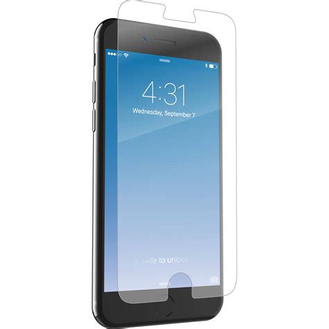 zagg invisibleshield glass screen protector ip7lgc f00 b h