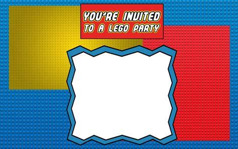 printable lego invitation templates invitations