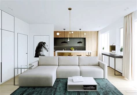 modern apartment decor with minimalist and natural neutral