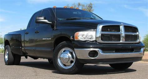 car owners manuals for sale 2004 dodge ram 1500 electronic valve timing find used 2004 dodge ram 3500 slt 6 speed manual cummins diesel crew long bed az clean in