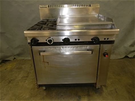 Oven Gas 150x55x70cm Plat Tebal 1 waldorf 2 burner gas stove with plate and oven dimensions h1120mm x w9 auction 0006
