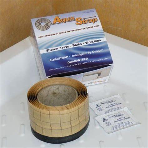Aquastrap Shower Seal by Sealux Aquastrap 2 3 Metre And Silicone Bundle