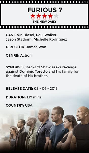 movie fast and furious 7 review why fast and furious 7 should win an oscar the new daily