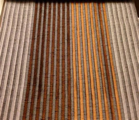 rust orange curtains custom rust orange curtains with small stripe by lushlivings