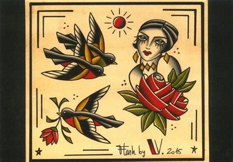 flash tattoo review tattoos flash vittoriatattoo tattoos by vittoria toya dominici