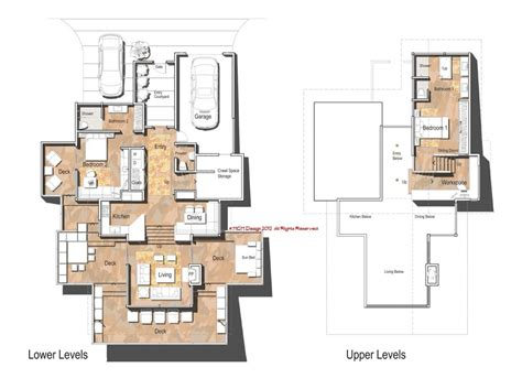 slope house plans functional design house plans on a slope