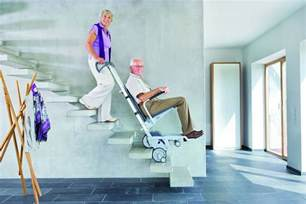 Temporary Stair Lift by Scalamobil Portable Stair Climber Mobility123