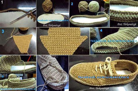zapatos de varon tejidos zapatos de hombre tejidos al crochet con paso a paso