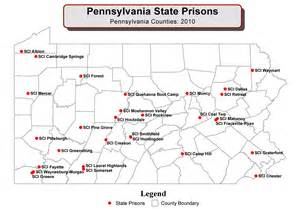 federal prisons in map map of pa prisons pictures to pin on pinsdaddy