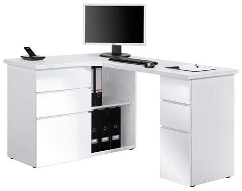 corner computer desk white maja 9543 white corner computer desk