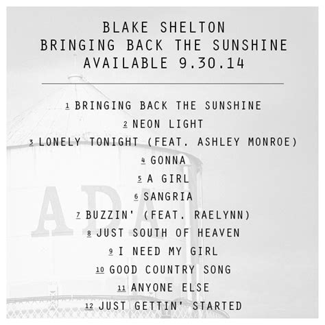 shelton bringing back the album announcement bringing back the by