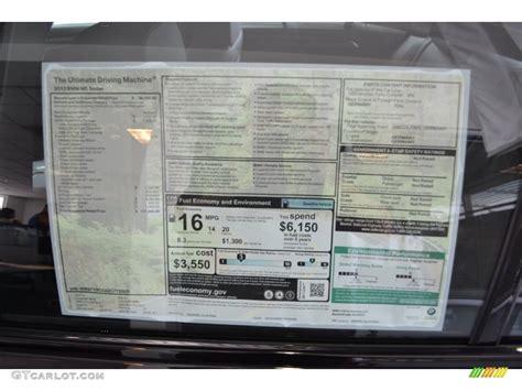 Bmw Original Window Sticker By Vin