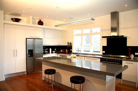 simple modern kitchen cabinets modern simple style kitchen pt chevalier auckland 2013 modern kitchen auckland by