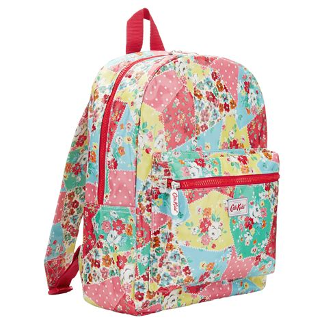 Patchwork Backpack - cath kidston patchwork padded backpack in multicolor
