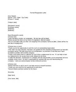 How To Write Formal Resignation Letter by Formal Letter Format 11 Free Word Pdf Documents Free Premium Templates