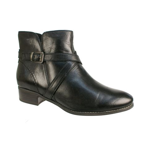 tamaris 25364 s black boots free delivery at shoes