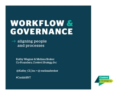 content strategy workflow content governance and workflow confab intensive 2015
