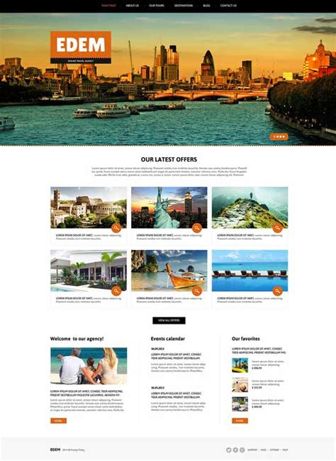 joomla travel templates free 30 best travel joomla templates 2017 freshdesignweb