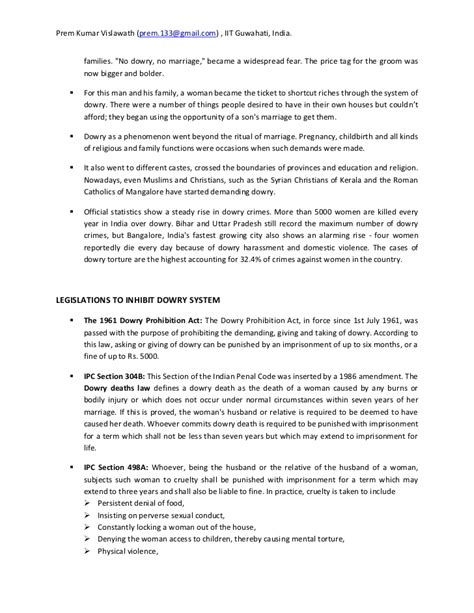 Dowry System In India Essay by Dowry System In India Essay Changes In The Marriage System Of Hindus In Modern India Essay