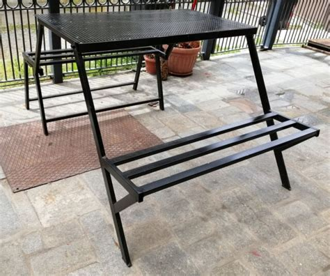panchina pieghevole tavolo mensola salvaspazio posot class