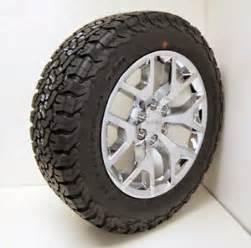 20 Inch Truck Tires Bfgoodrich New Set 2015 Chrome 20 Gmc Z71 Yukon Slt Wheels