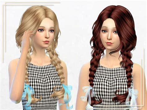 sims 4 child hair cc my sims 4 blog elasims asked hair 23f retexture by sakurphan