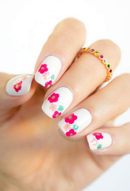 spring pattern nails top 30 spring nail designs yve style com