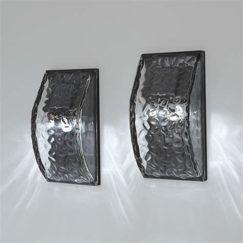 Solar Wall Sconce lights solar solar wall vitreo solar wall sconce light set of 2