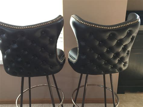 leather sling back bar stools tag archived of sling back bar stools leather high back