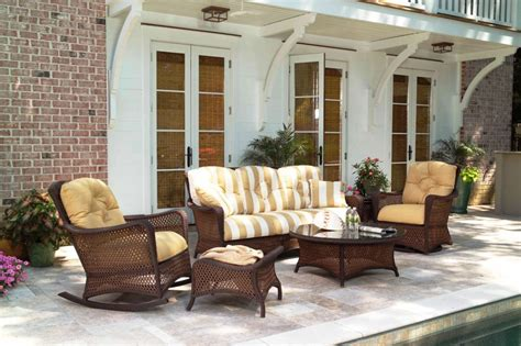 southern decorations synthetic wicker woven furniture on long island ny