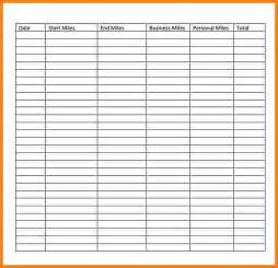 gas mileage log template gas mileage template 28 images gas mileage log and