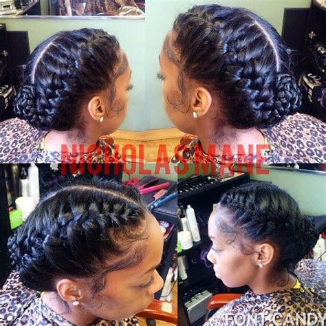 stylist feature love this goddess braid done by jay florence hair stylist feature love these