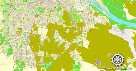 free vector map 2 vienna wien austria printable vector map city