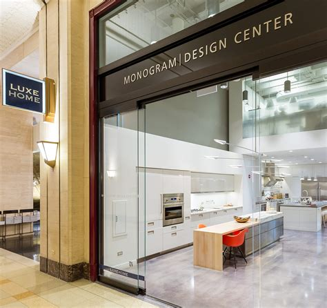 design center at the merchandise mart ge monogram design center chicago flagship showroom