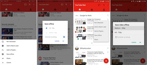 download youtube red videos to computer youtube red launches in australia youtube svod pc world