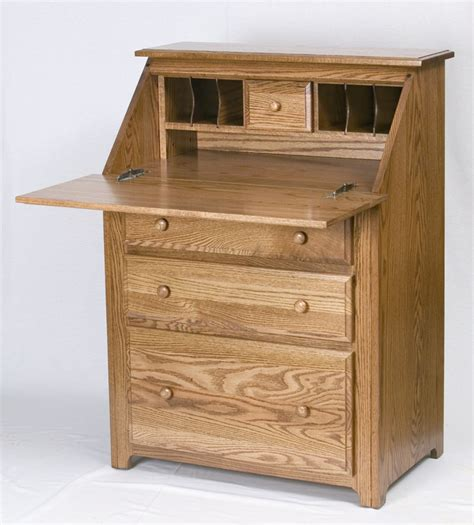 Drop Front Desks by Apple Creek Furniture