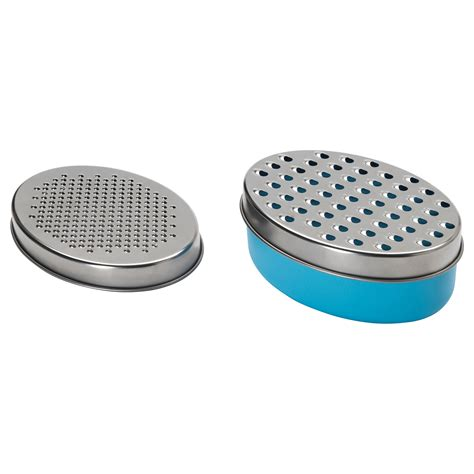 chosigt grater with container blue ikea