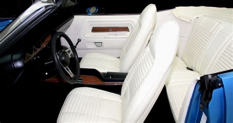 White Challenger Interior bright blue 1970 dodge challenger r t convertible cars