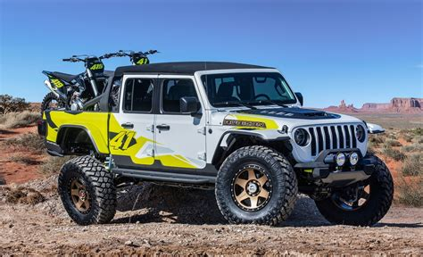 2020 Jeep Gladiator Yellow by 2019 Jeep Gladiator Flatbill Concept Top Speed