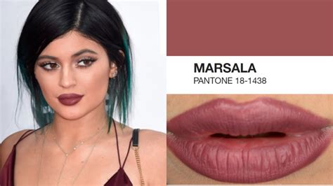 hair color of the year 2015 163 1 only marsala lip color pantone color of the year
