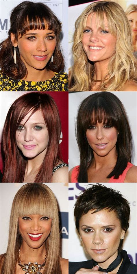hairstyles for pear shaped face over 45 the best and worst bangs for inverted triangle faces