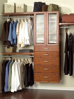 Bedroom Closet Organization Systems 30 Genius Tips For Your Most Organized Closet Closet Organization Housekeeping And