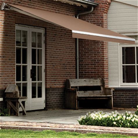 solair retractable awnings solair ps1000 retractable awning kit with sunbrella walnut